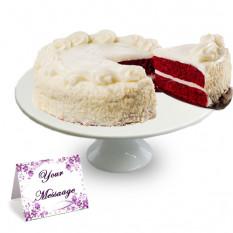 Gâteau au chocolat rouge et velours