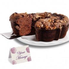 Gâteau au café viennois avec du chocolat