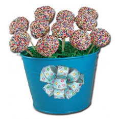 Cake Pops - Sprinkle Design, Gift Pail of 12