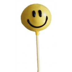 Cake Pops - Smiley Face (12 Pops)