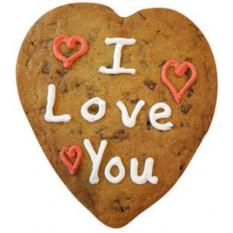 Cookie géant - je t'aime