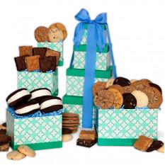 De la tour-cadeau de la boulangerie
