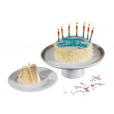 Joyeux anniversaire gâteau aux gousses de vanille au beurre d'or (2 couches)