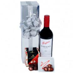 Envoyer le rouge - vin et chocolat