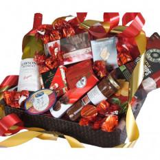 Gourmet Indulgence - Panier à cadeaux