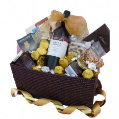 Gourmet Essentials - Panier à cadeaux