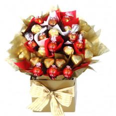 Carnaval d'automne - Panier à chocolat