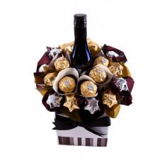 Merlot fondant - Panier à chocolat