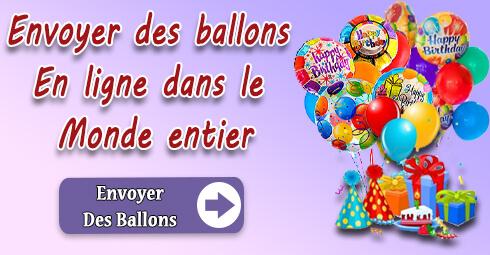 Livraison de ballon en France