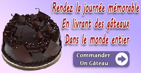 Livraison de gâteaux France Villes
