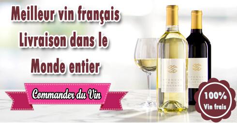 Livraison de vins dans les villes de France